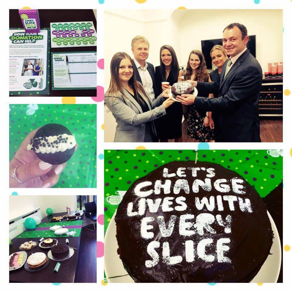 collage - Come along to our Macmillan Coffee Morning!