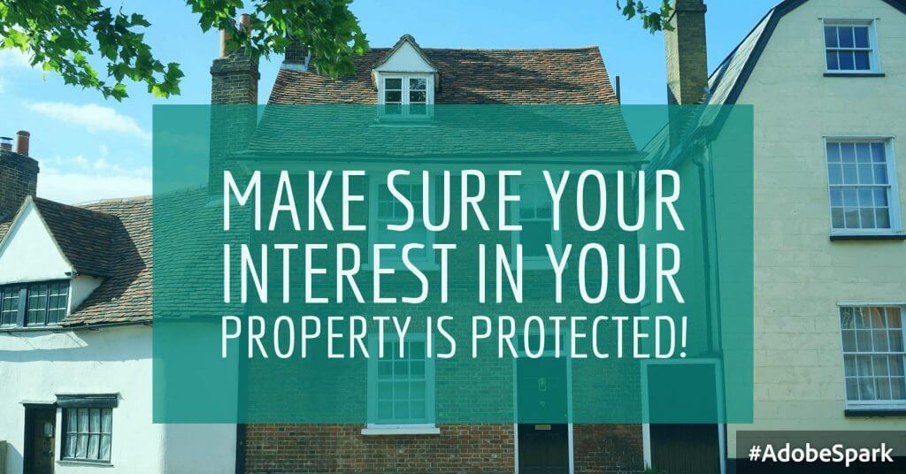 Adobe Spark 34 1024x536 - Is your interest in your property protected in the event of a breakup?