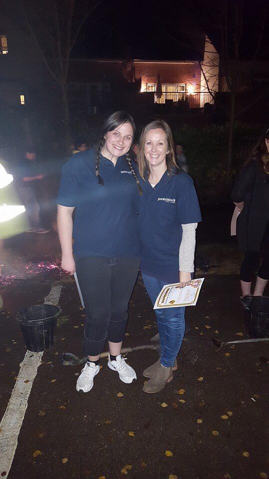 Me Cheryl 2 - St Luke's Hospice Firewalk