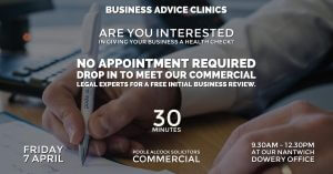 business clnic april 300x157 - Free Monthly Business Clinic