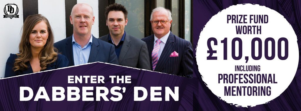 dabbers den fb picture 1024x379 - Exciting news – The Dabbers Den competition returns for a fifth year!