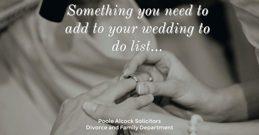 pre nuptial 1024x536 - The Wedding To Do List: UPDATE: prenuptial/pre-civil agreement