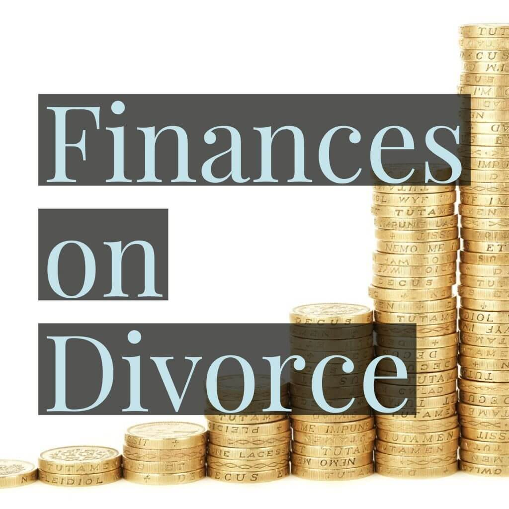 Finances on Divorce