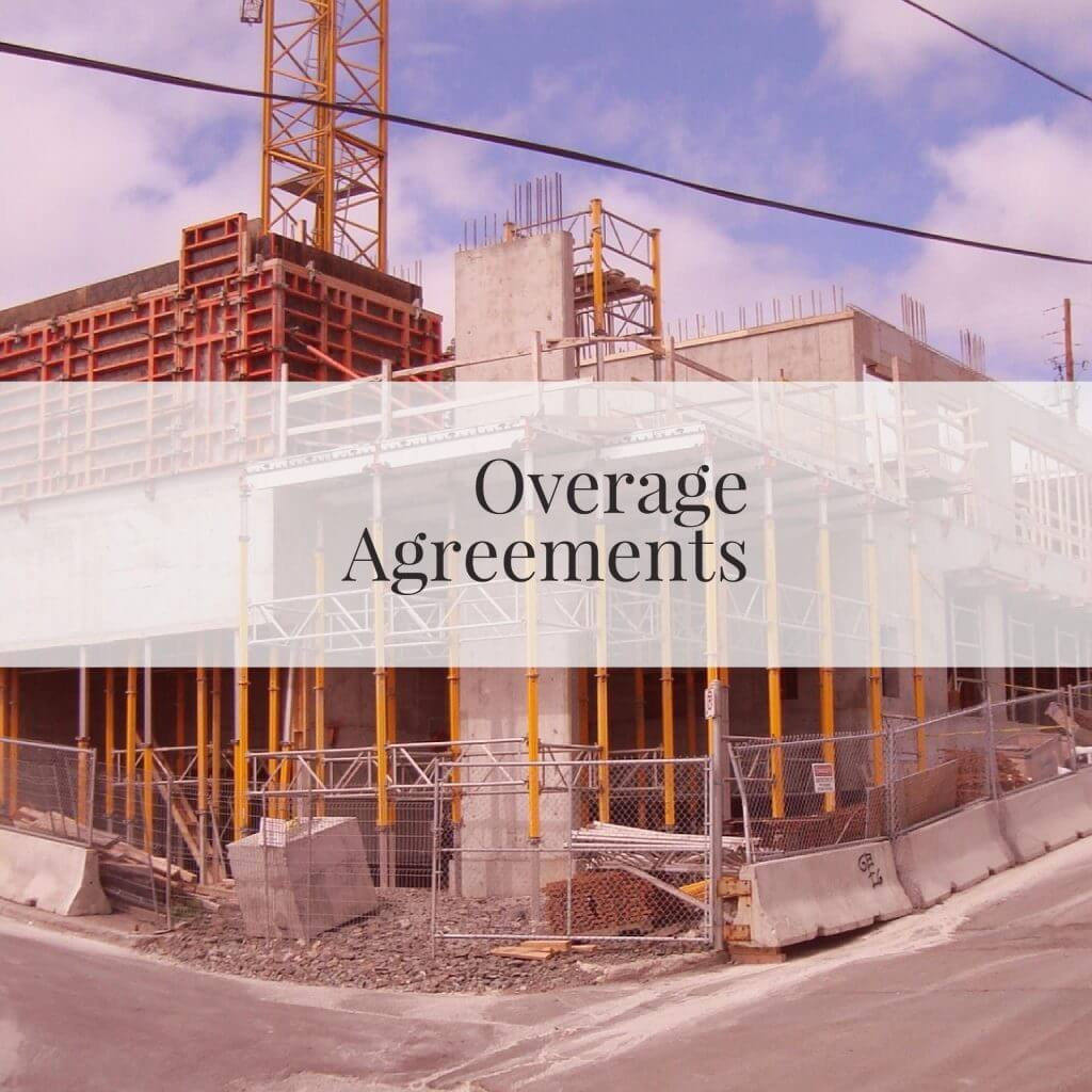 Overage Agreements