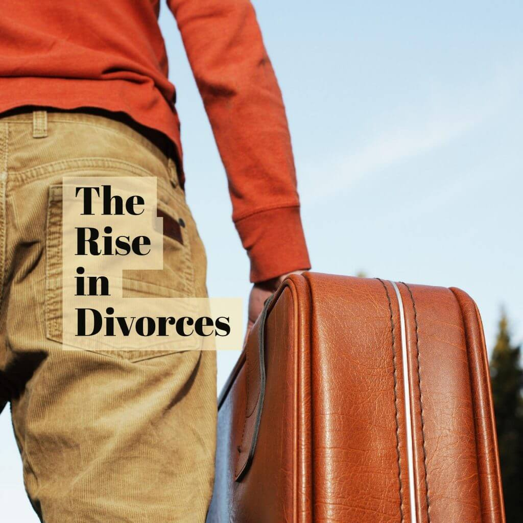 Rise in Divorces