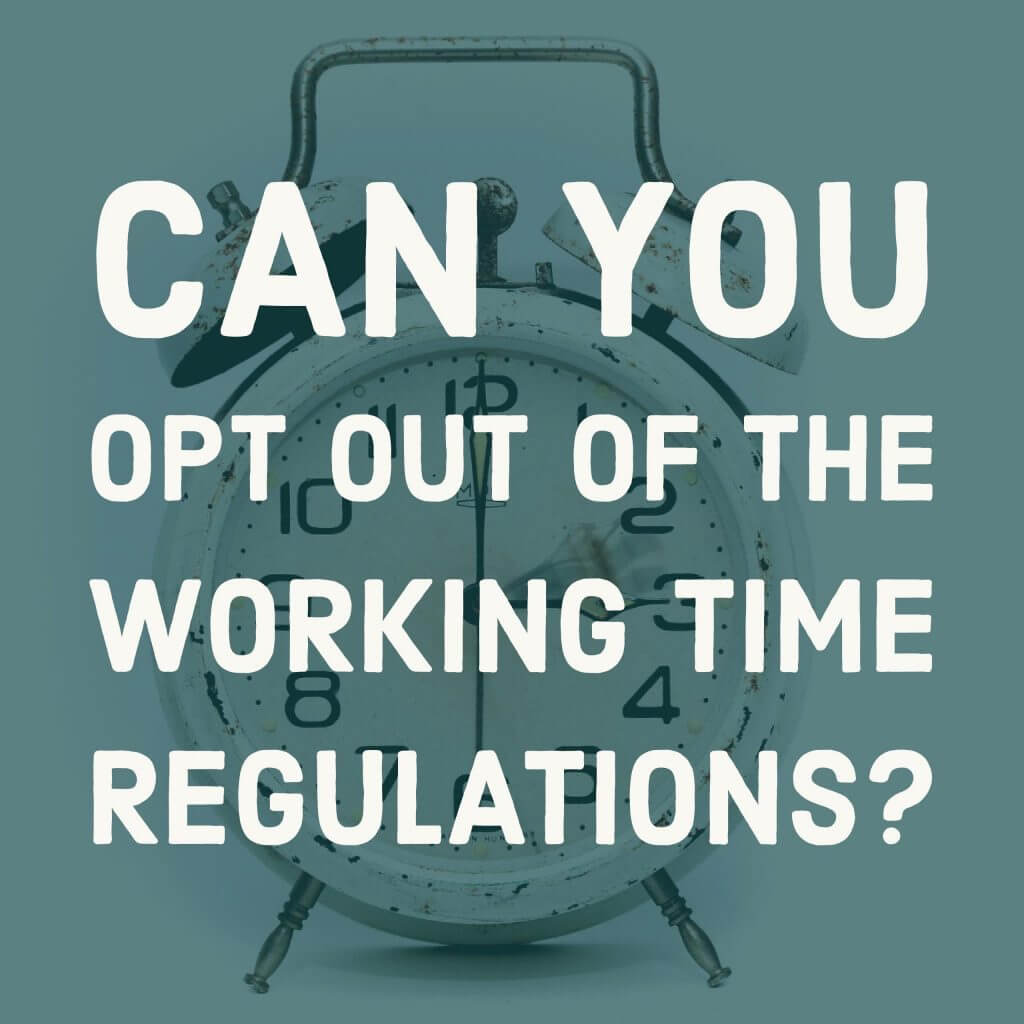 working time regulations