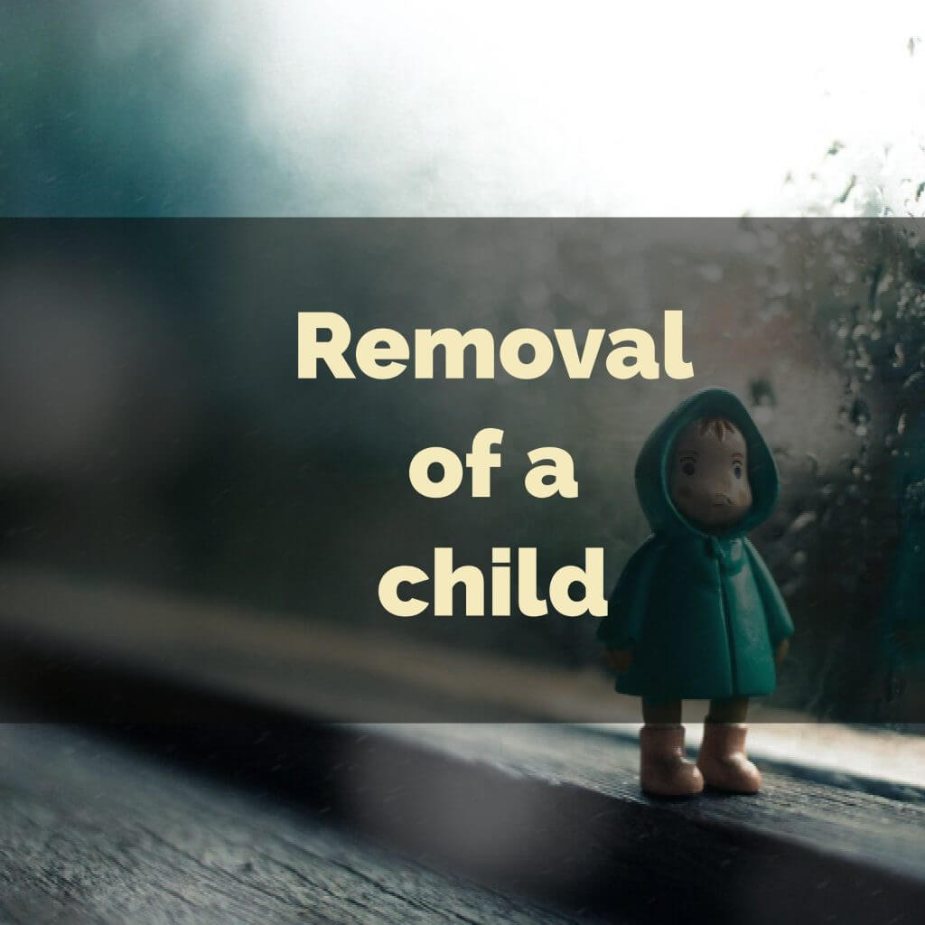 removal of child