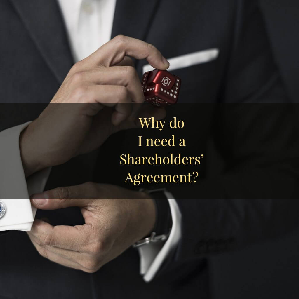 Why do I need a shareholders agreement