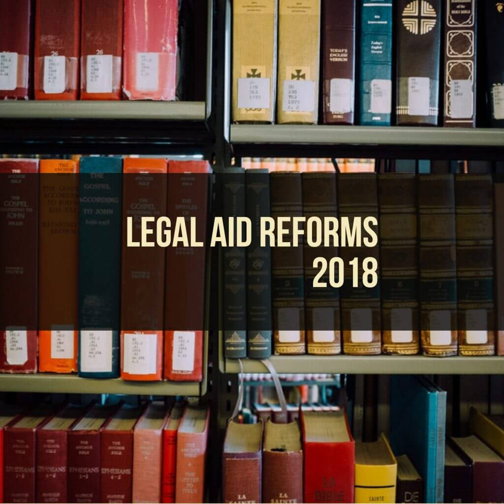 legal aid reforms
