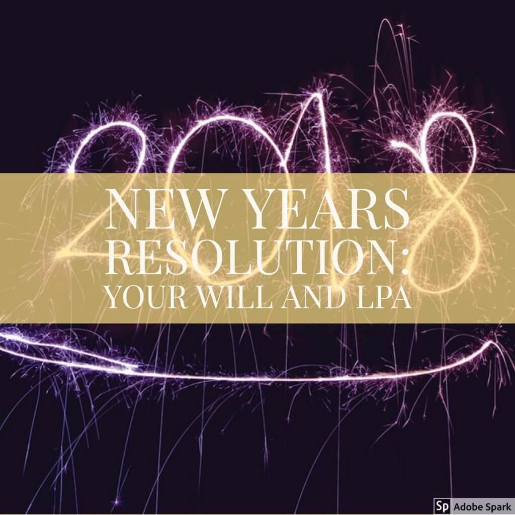 new year resolution wills