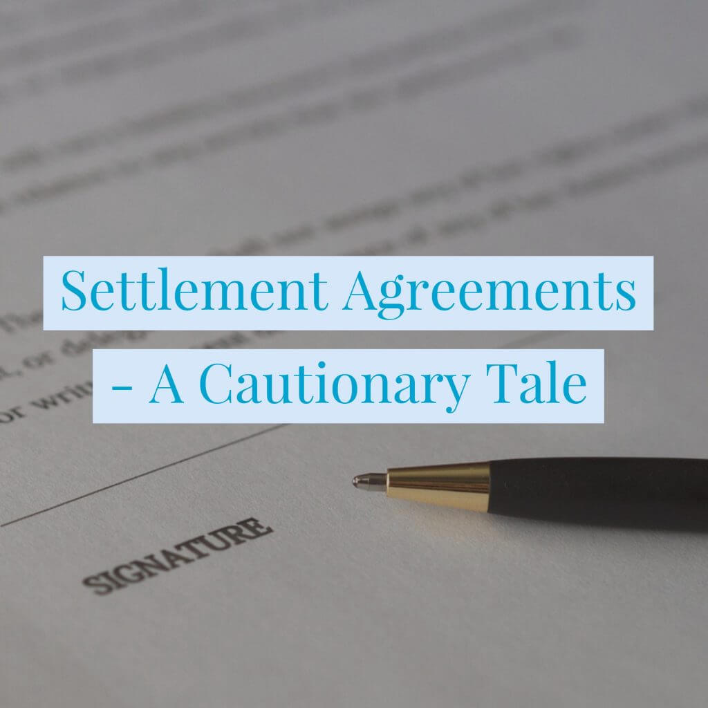 Settlement Agreements