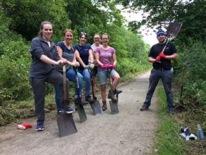 rangers1 300x225 - Poole Alcock lends a hand with the Cheshire East Rangers