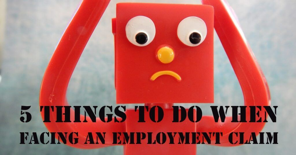 My Post 11 1024x537 - 5 Things To Do When Facing An Employment Claim