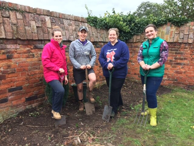 LC3 - Poole Alcock lends a hand at Leonard Cheshire's Hill House Care Home, Sandbach