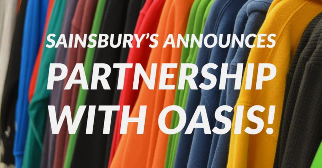 My Post 1024x537 - Sainsbury's announces partnership with Oasis!