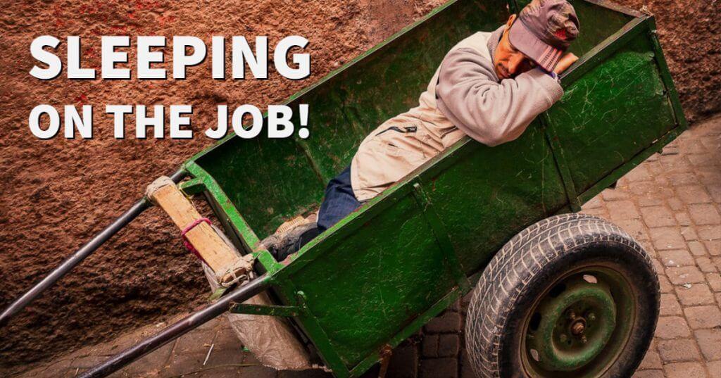 My Post 1 1024x537 - Sleeping on the Job!
