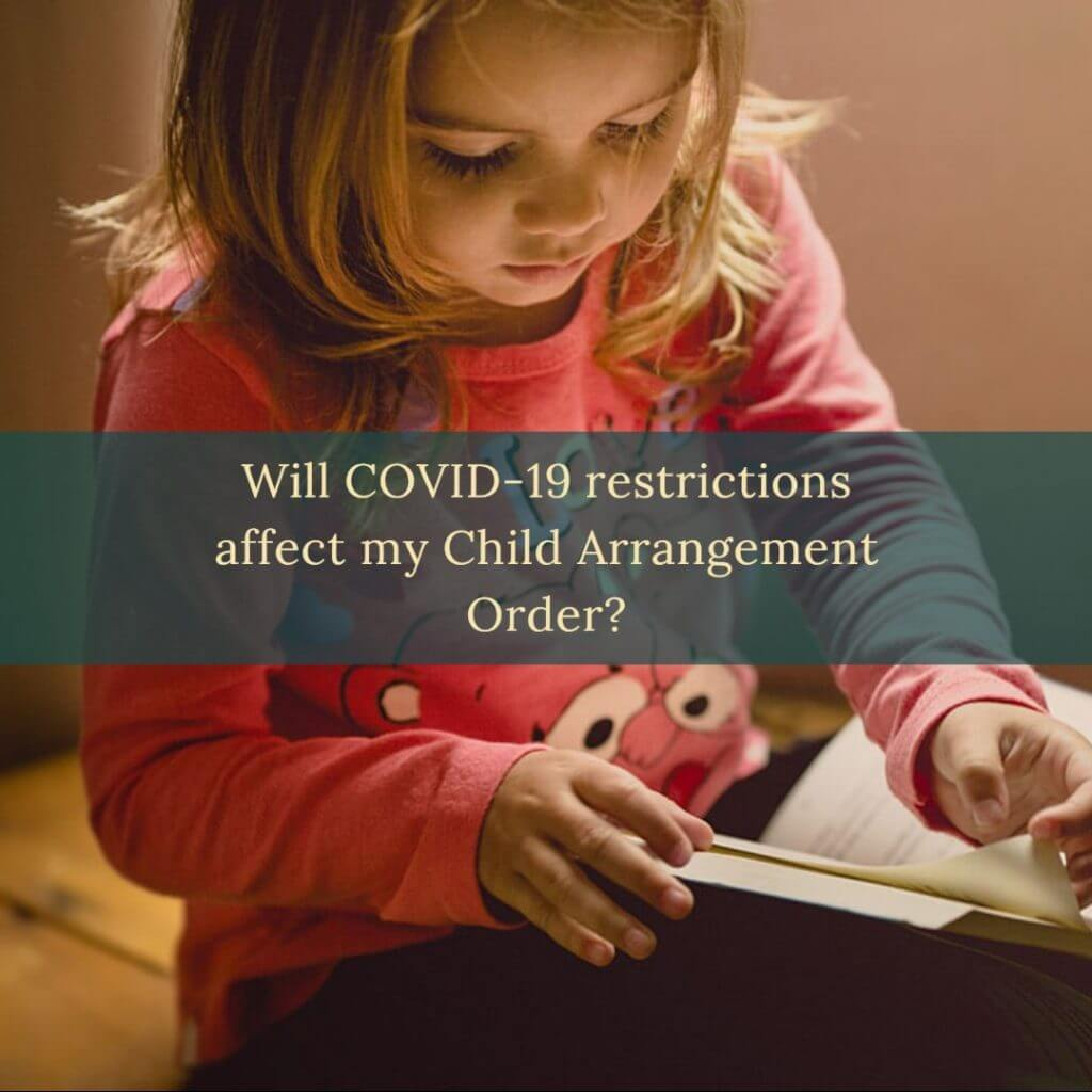 covid child arrangements 1024x1024 - Will the Governments advice over COVID 19 impact upon my Child Arrangement Order?