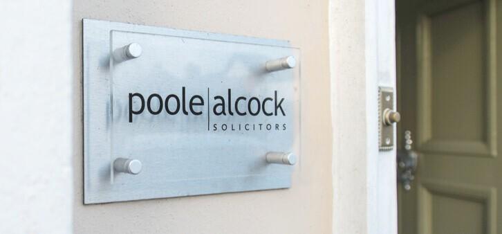 Poole Alcock legal aid
